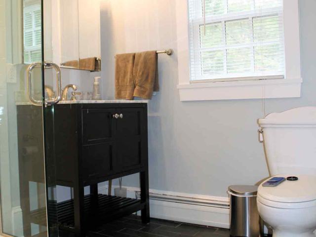 1790s House - Bathroom Renovation - by Anne Hickok Hanley