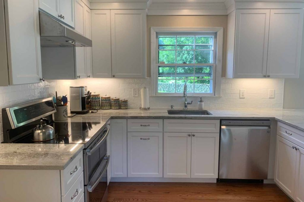 Bright and Airy Colonial - Kitchen Renovation, Bathroom Renovation, Laundry Room Renovation - by Anne Hickock Hanley