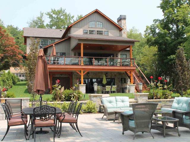 Lake House - New Construction - Anne Hickok Hanley