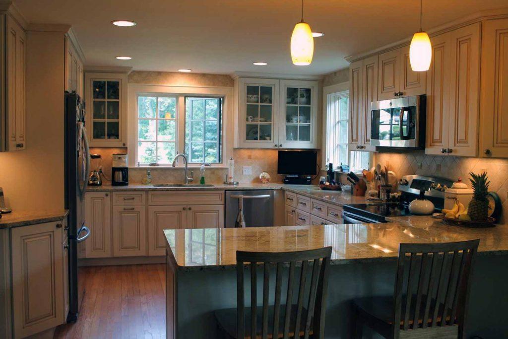Tuscan Kitchen - Kitchen Renovation, Laundry Room Renovation - by Anne Hickok Hanley