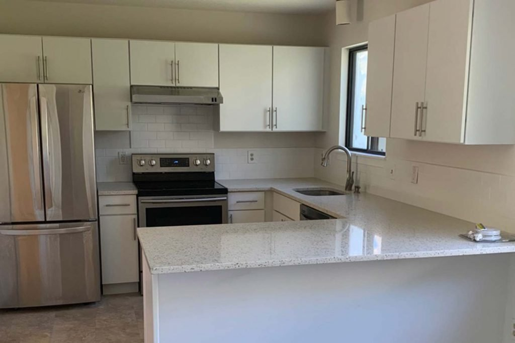 Condo Resale Facelift - Whole House Renovation - by Anne Hickok Hanley