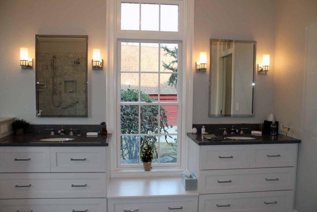 Horse Country Retreat - Bathroom Renovation - by Anne Hickok Hanley