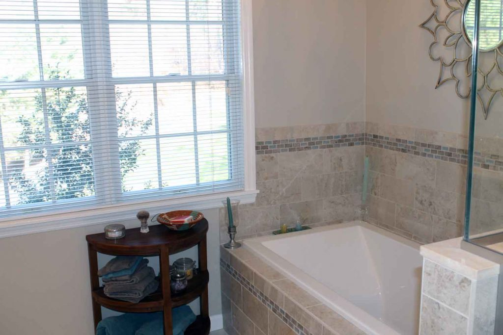 House in the Woods - Bathroom Renovation and Laundry Room Renovation - by Anne Hickock Hanley