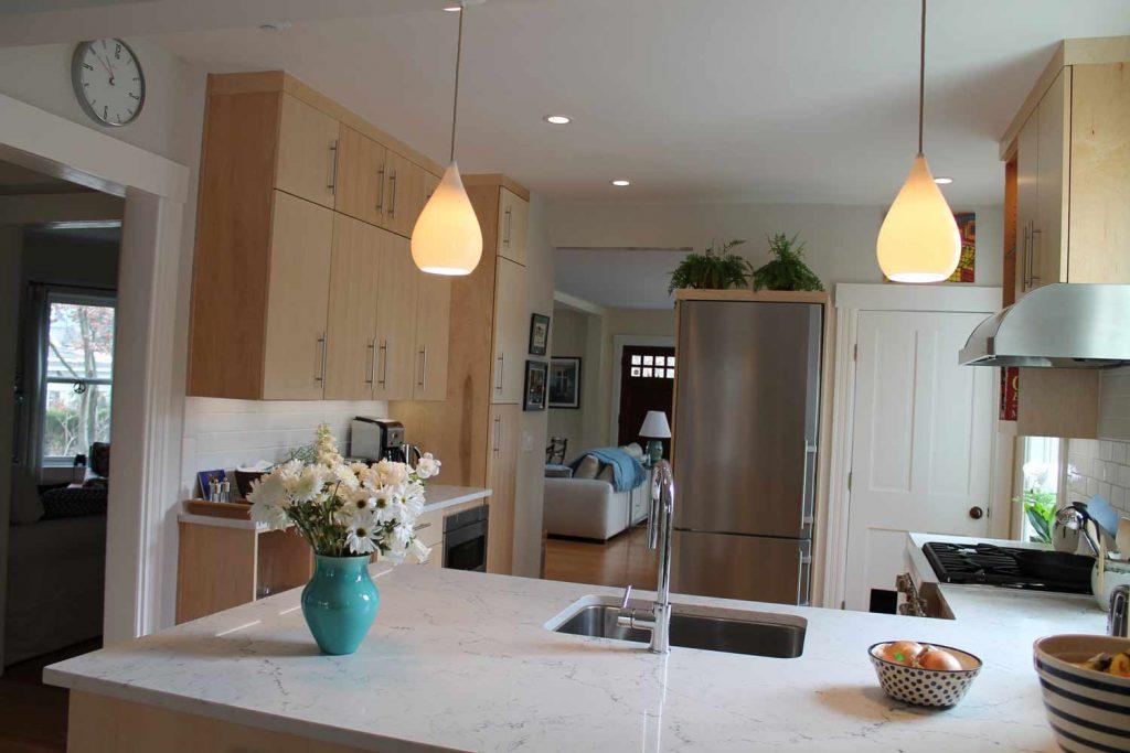 Light Filled Kitchen by Anne Hickok Hanley