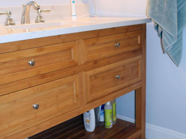 Small and Smart Master Bath by Anne Hickok Hanley
