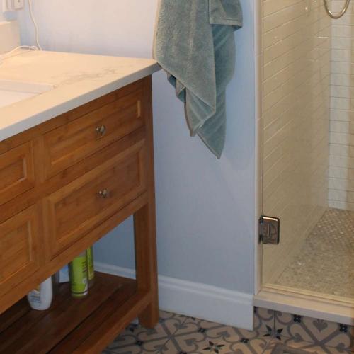 Small and Smart Master Bath