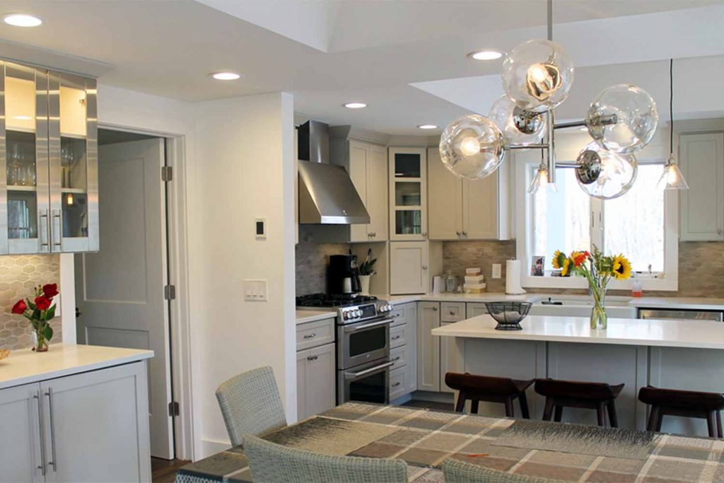 The Hideaway - Bathroom Renovations and Kitchen Renovation - by Anne Hickok Hanley