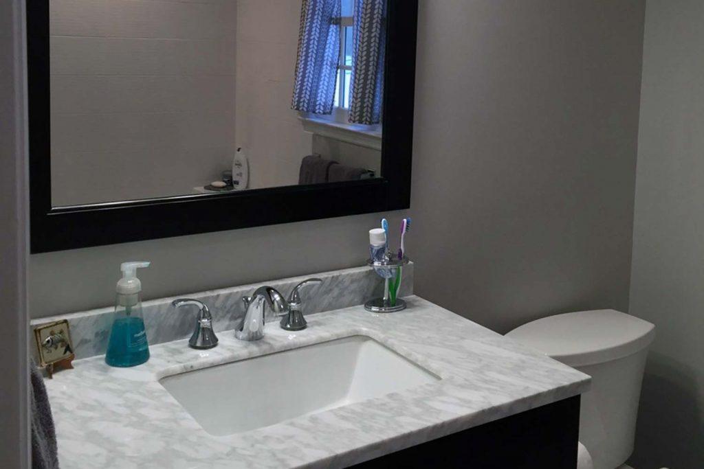Cool Teen Bathroom - Bathroom Renovation - by Anne Hickok Hanley
