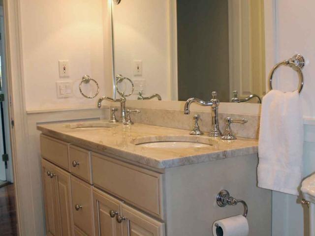 Mirrored Beauty - Bathroom Renovation - Anne Hickok Hanley