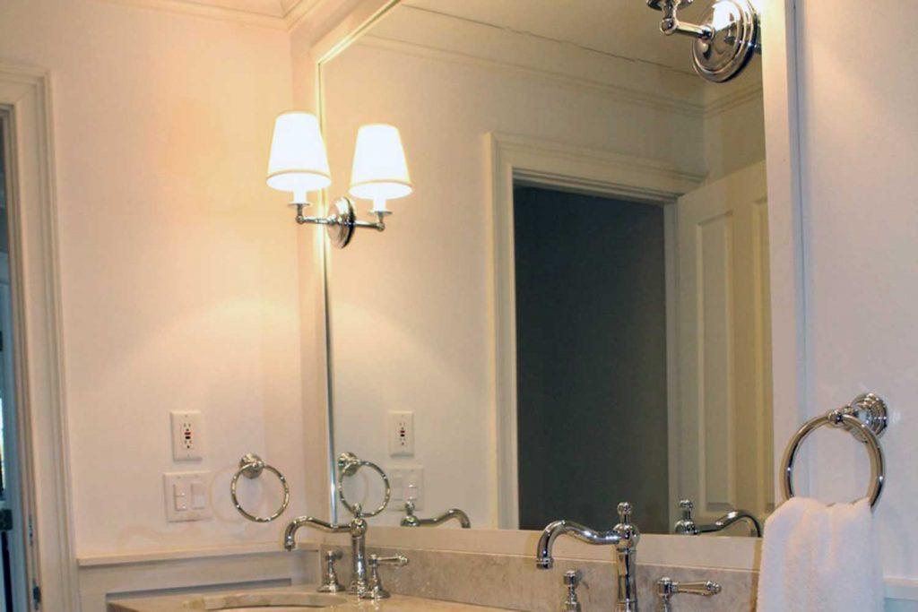 Mirrored Beauty - Bathroom Renovation - by Anne Hickok Hanley